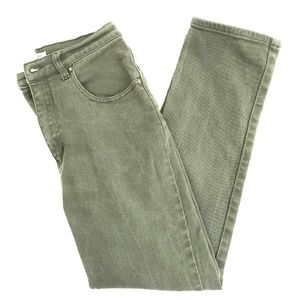 Cherokee Jeans - Vintage 90's 00's Hi Rise Olive Green Mom Jeans 28